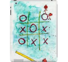 Tic Tac Toc win win iPad Case/Skin