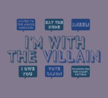 I'm with the villain Kids Clothes