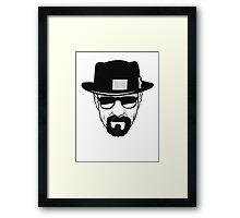 Breaking Bad - Heisenberg Framed Print
