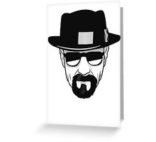 Breaking Bad - Heisenberg Greeting Card