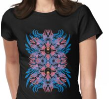 yingyang totem Womens Fitted T-Shirt
