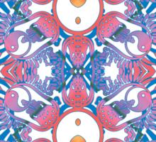 yingyang totem Sticker
