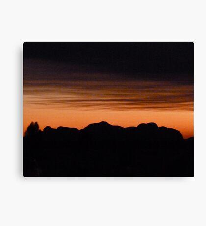 Kata Tuja - Olgas Sunset Canvas Print