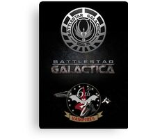 Battlestar Galactica Canvas Print