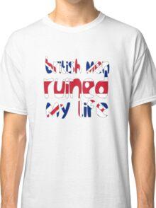 British men ruined my life Classic T-Shirt