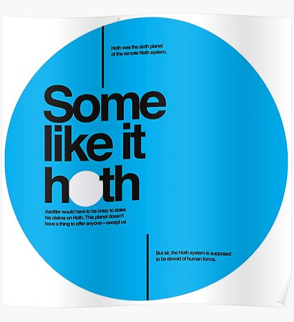 Star Wars: Some like it hoth Poster