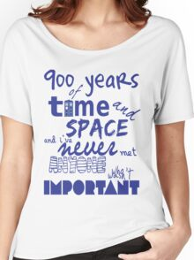 doctor who - 900 years of time and space Women's Relaxed Fit T-Shirt