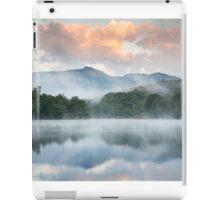 North Carolina Grandfather Mountain Reflects in Price Lake iPad Case/Skin