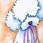 Favorite Things Poodle by offleashart