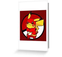 PikaFlash Greeting Card