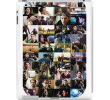 supernatural - destiel (dean/castiel) caps iPad Case/Skin