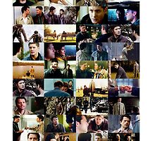 supernatural - destiel (dean/castiel) caps by crowleying