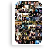 supernatural - destiel (dean/castiel) caps Canvas Print