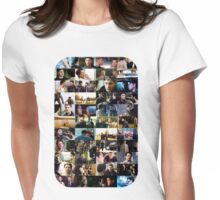 supernatural - destiel (dean/castiel) caps Womens Fitted T-Shirt