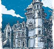 Old Castle in Belgium by aurielaki
