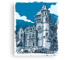 Old Castle in Belgium Canvas Print