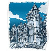 Old Castle in Belgium Poster