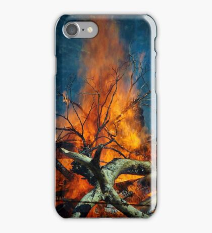 Burn baby burn iPhone Case/Skin