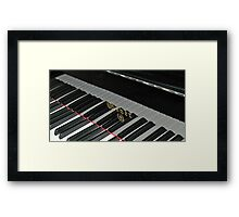 Grand Piano Reflections Framed Print
