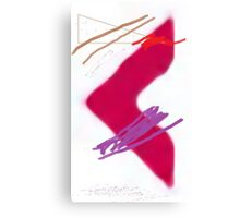 Red Arrow Canvas Print