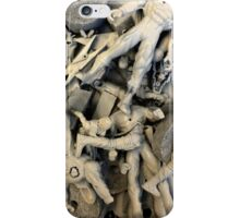 untitled# (plastic figures on canvas) iPhone Case/Skin