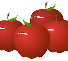Red Apples by kwg2200