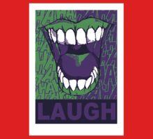 LAUGH purple One Piece - Short Sleeve