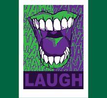 LAUGH purple Unisex T-Shirt