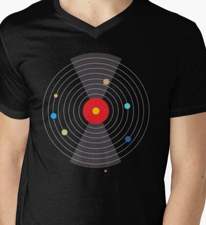 Solar System Mens V-Neck T-Shirt