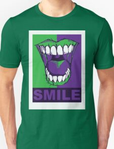 SMILE purple T-Shirt