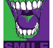 SMILE purple by SquareDog