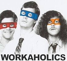 Workaholics tmnt by luigi2be