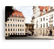 Prague Buildings Canvas Print