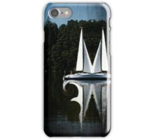 Abstract Boat iPhone Case/Skin
