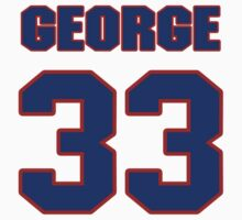 National baseball player George Armstrong jersey 33 T-Shirt
