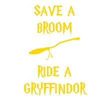 Harry Potter Ride a Gryffindor Photographic Print