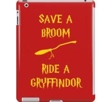 Harry Potter Ride a Gryffindor iPad Case/Skin
