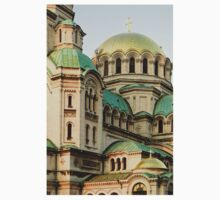 St Alexander Nevsky Orthodox Christian Cathedral in Sofia, Bulgaria T-Shirt