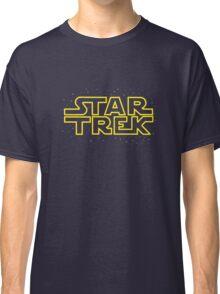 Star Trek - Star Wars parody Classic T-Shirt