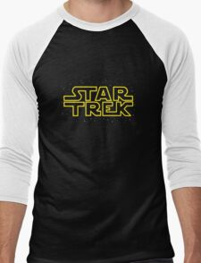 Star Trek - Star Wars parody Men's Baseball ¾ T-Shirt