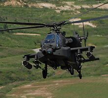 Apache Flying Back In by Christian Eccleston