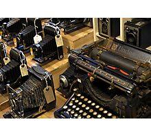 Typwriter in Camden, London Photographic Print