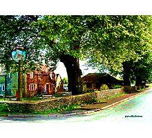English Roadside Photographic Print