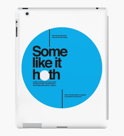 Star Wars: Some like it hoth iPad Case/Skin