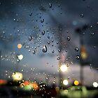 Rainy Night At A Stoplight by meadaura