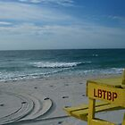 Life Guard Bench in LBI, NJ by ANJacobsen