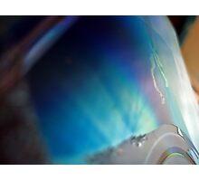 Circuitry en bleu Photographic Print