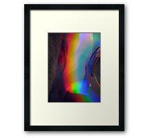 Prismatic Pyroclast Framed Print