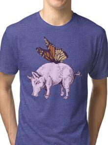 Butterpig Tri-blend T-Shirt
