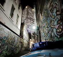 Melbourne Lane by MichaelA